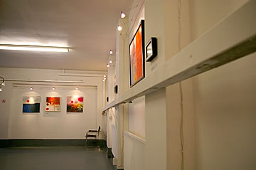 Outside, Almiro Gallery, 2008